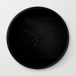 The Texture of Darkness Wall Clock