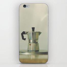 Italian moka pot. iPhone Skin