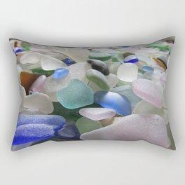Sea Glass Assortment 6 Rectangular Pillow