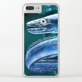 Conger Eel Clear iPhone Case