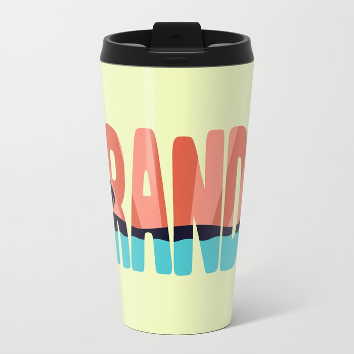 STR\NDED Metal Travel Mug