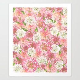 Clovers Meadow Art Print