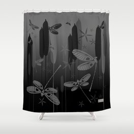 CN DRAGONFLY 1011 Shower Curtain