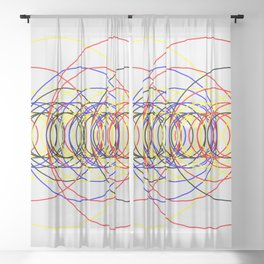Circle Splendor 8.2 Sheer Curtain