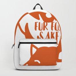 Fur Fox Sake Backpack