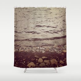 Wyoming Beaches Shower Curtain