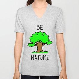 Be Nature Unisex V-Neck