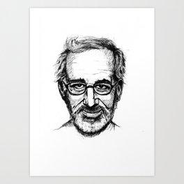 spielberg Art Print