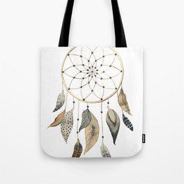 Dream Catcher Brown Tote Bag