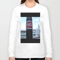 coke Long Sleeve T-shirts featuring Industrial Coke by Vorona Photography
