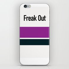 FREAK OUT iPhone & iPod Skin