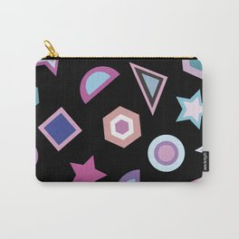 Geometric Pattern V Carry-All Pouch