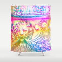 Antique Rainbow Rome - Travel Photography Shower Curtain