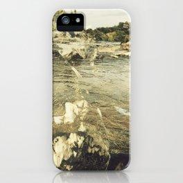 Yellow Spectre iPhone Case