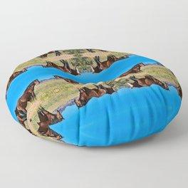 Wild_Horses 0163 - Nevada Floor Pillow