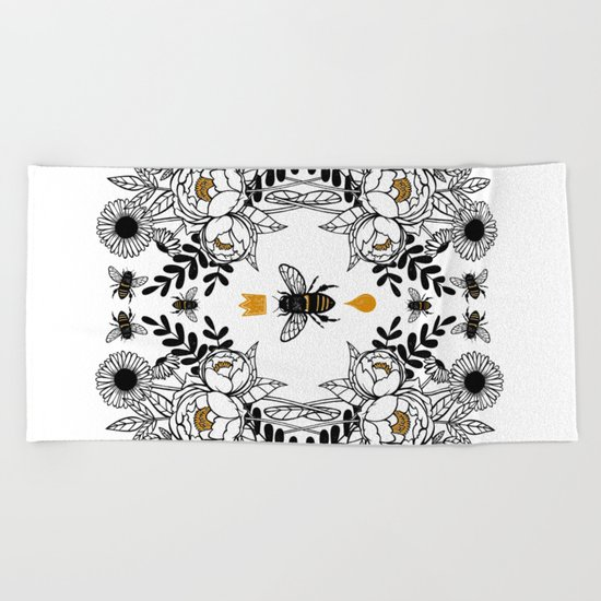 Queen Bee Beach Towel