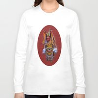 chinese Long Sleeve T-shirts featuring Chinese Theatre by Lucia