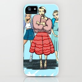 Idiot Hookers iPhone Case