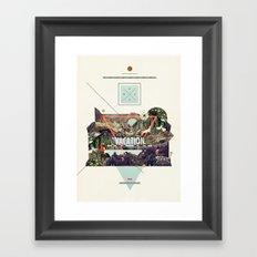island Vacation Framed Art Print