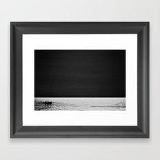 Fishermen Framed Art Print