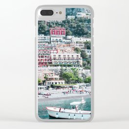 In Positano Clear iPhone Case