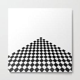 Perspective floor Metal Print