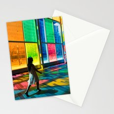Stepping into a rainbow Stationery Cards
