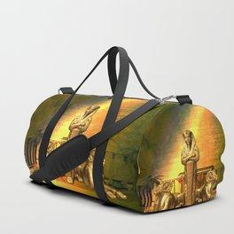 Anubis, the egyptian god Duffle Bag