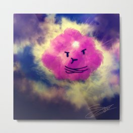 the lumpy space Metal Print