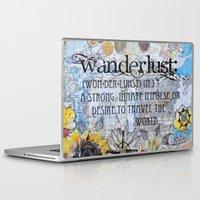 wanderlust Laptop & iPad Skins featuring Wanderlust by Jenndalyn