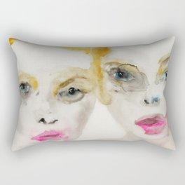 We've Been Had Rectangular Pillow