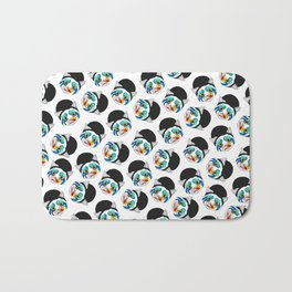 Ga Ga Cat Head Bath Mat