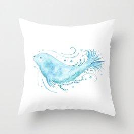 Selkie Spirit Throw Pillow