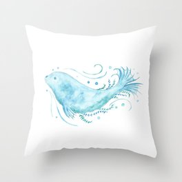 Selkie Spirit Throw Pillow