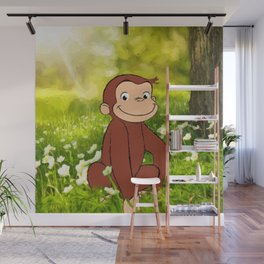 Curious George Wall Mural