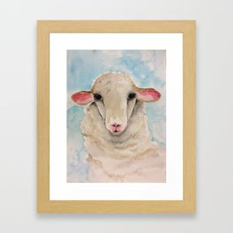 Little Lambs Eat Ivy Framed Art Print