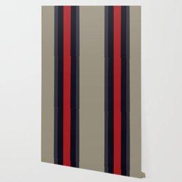 High Fashion Designer Style Stripes Wallpaper