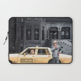 Foxes At Night Laptop Sleeve