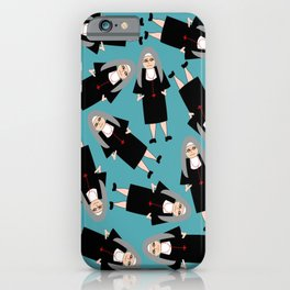 Nuns Wearing Habits iPhone Case