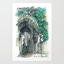 Camino Portugués - Coimbra Art Print