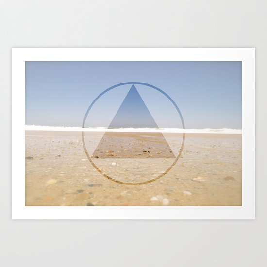 Beachside Art Print