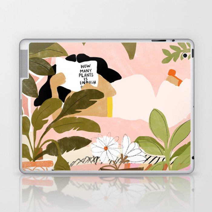 How Many Plants Is Enough Plants? Laptop & iPad Skin