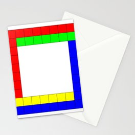 Penrose Square Stroked Stationery Cards