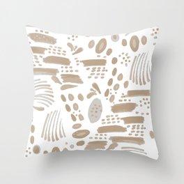 Brushstroke Scatter Throw Pillow