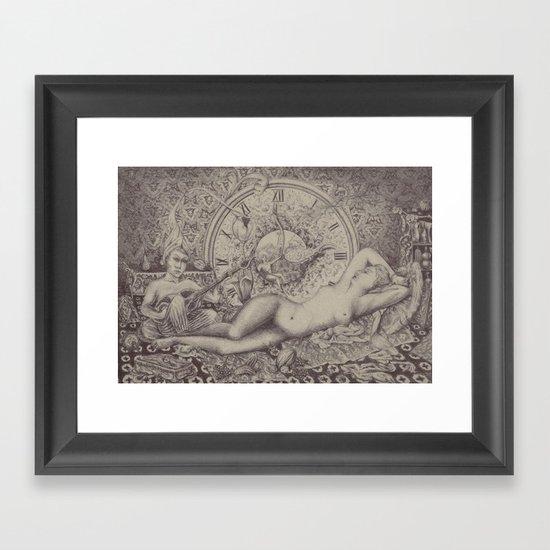 Night time awakes sensations pt.2 Framed Art Print