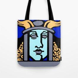 Jugendstil Einfuhrmesse Frankfurt blue Tote Bag