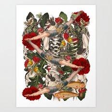 ANATOMY: CIRCUS  Art Print