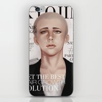 snk iPhone & iPod Skins featuring SnK Magazine: Connie by emametlo