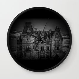 Haunted House Wall Clock