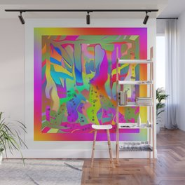 ABSTRACT WILDERNESS Wall Mural